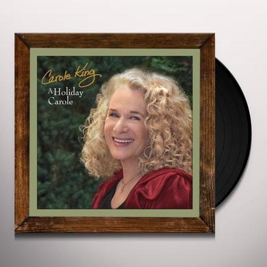 Carole King HOLIDAY CAROLE Vinyl Record