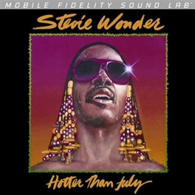 Stevie Wonder HOTTER THAN JULY Vinyl Record - Limited Edition