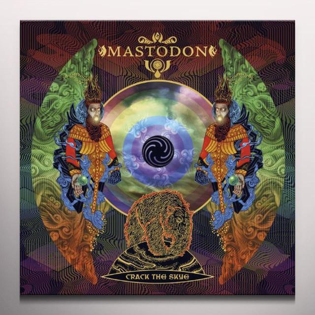 Mastodon CRACK THE SKYE Vinyl Record - Colored Vinyl, Limited Edition