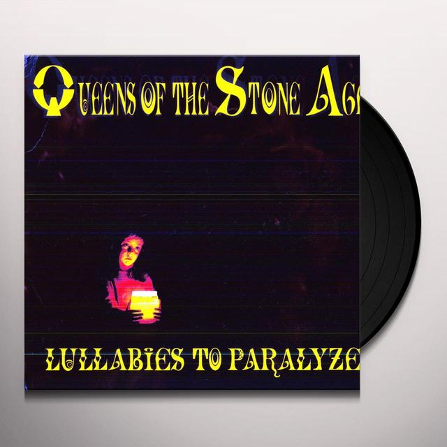 Queens Of The Stone Age LULLABIES TO PARALYZE Vinyl Record