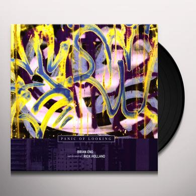 Brian Eno PANIC OF LOOKING Vinyl Record - MP3 Download Included