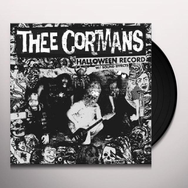 Thee Cormans HALLOWEEN RECORD WITH SOUND EFFECTS Vinyl Record