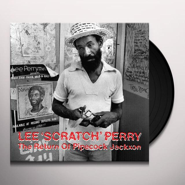 Lee Scratch Perry RETURN OF PIPECOCK JACKXON Vinyl Record