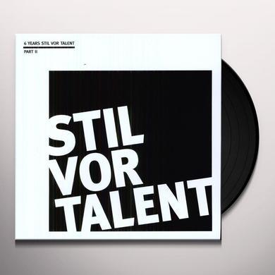 OLIVER KOLETZKI PRESENTS 6 YEARS STIL 2 / VARIOUS Vinyl Record