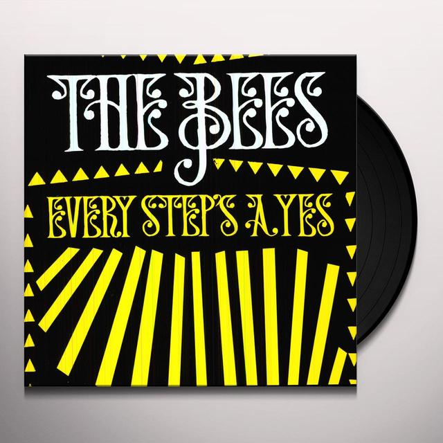 The Bees EVERY STEP'S A YES Vinyl Record - Bonus Vinyl