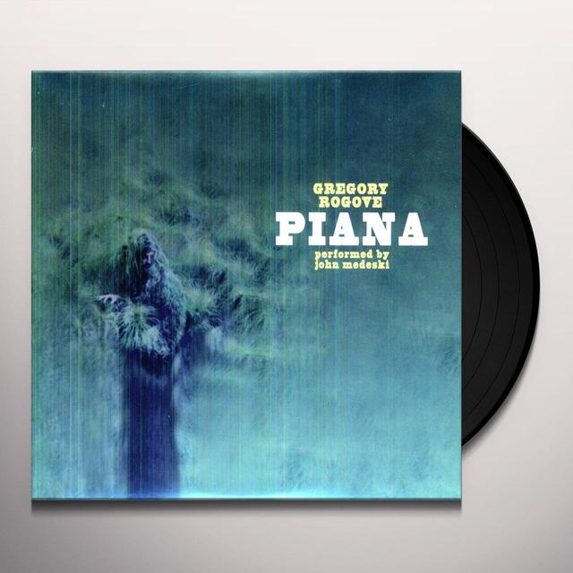 Gregory Rogove PIANA (BONUS DVD) Vinyl Record - Digital Download Included