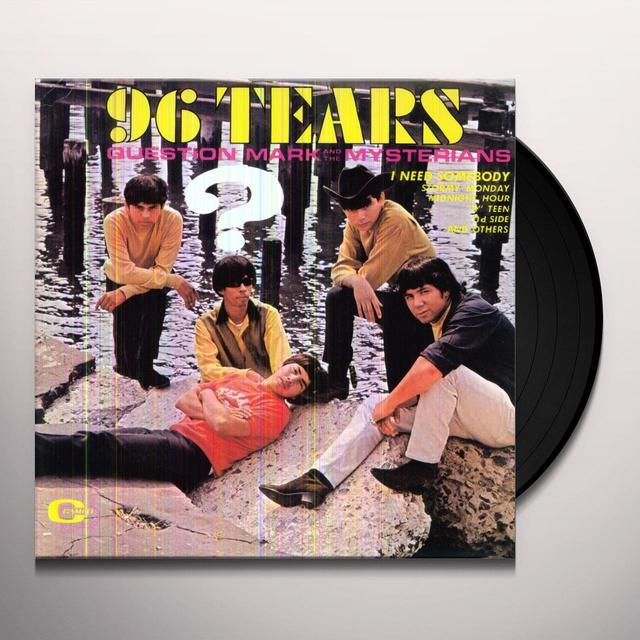 Question Mark & Mysterians 96 TEARS Vinyl Record - 180 Gram Pressing, Remastered