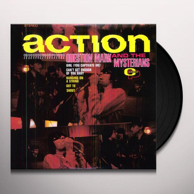 Question Mark & Mysterians ACTION Vinyl Record - 180 Gram Pressing, Remastered
