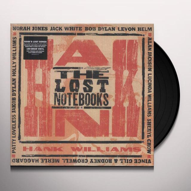 Lost Notebooks Of Hank Williams / Various (W/Cd) LOST NOTEBOOKS OF HANK WILLIAMS / VARIOUS Vinyl Record - w/CD