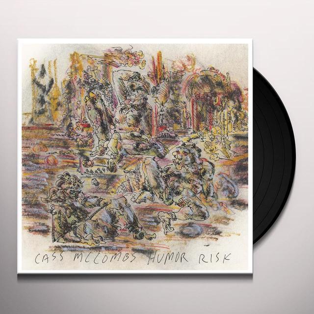 Cass Mccombs HUMOR RISK Vinyl Record