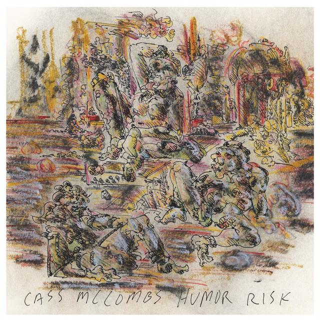 Cass Mccombs HUMOR RISK Vinyl Record - Digital Download Included