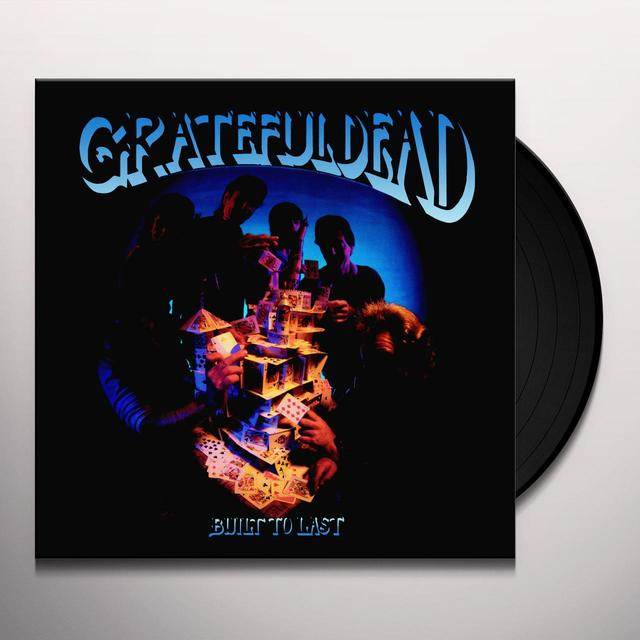 Grateful Dead BUILT TO LAST Vinyl Record