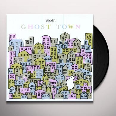 Owen GHOST TOWN Vinyl Record - 180 Gram Pressing, MP3 Download Included
