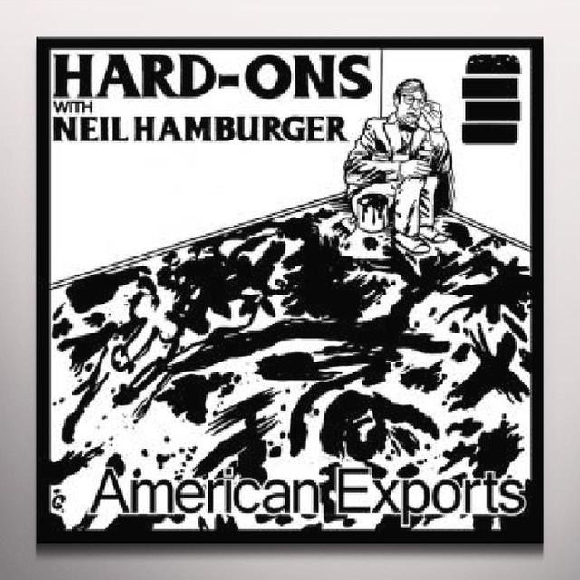 Neil Hard-Ons / Hamburger AMERICAN EXPORTS Vinyl Record - Colored Vinyl, Limited Edition, Digital Download Included