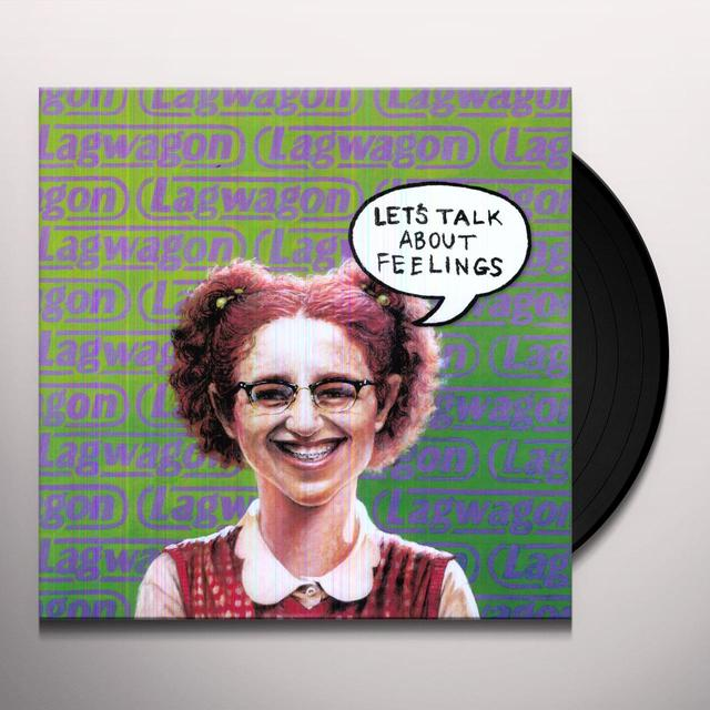 Lagwagon LET'S TALK ABOUT FEELINGS Vinyl Record