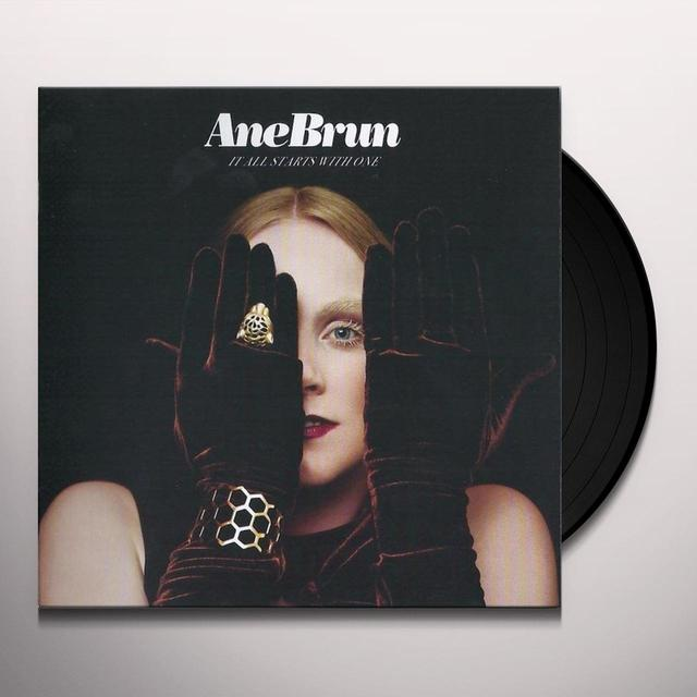 Ane Brun IT ALL STARTS WITH ONE Vinyl Record - Holland Import