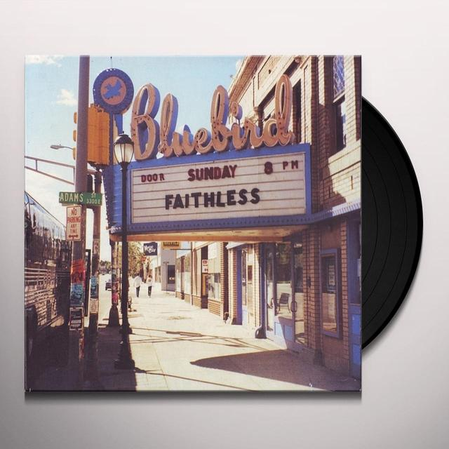 Faithless SUNDAY 8PM Vinyl Record - 180 Gram Pressing