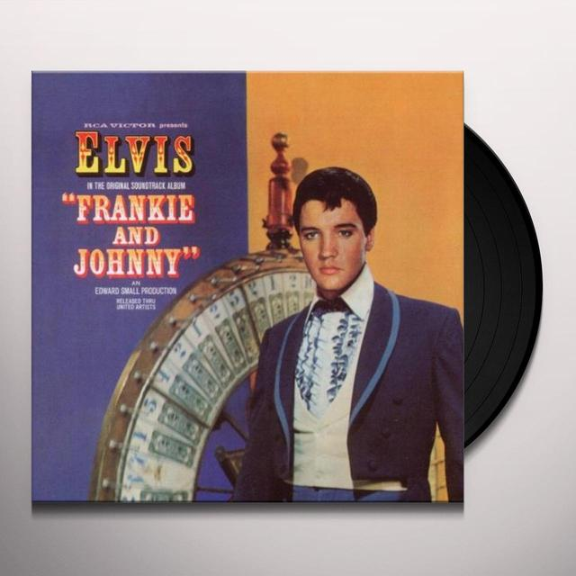 Elvis Presley FRANKIE & JOHNNY Vinyl Record - Canada Import