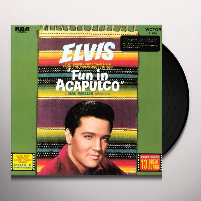 Elvis Presley FUN IN ACAPULCO Vinyl Record - Canada Release