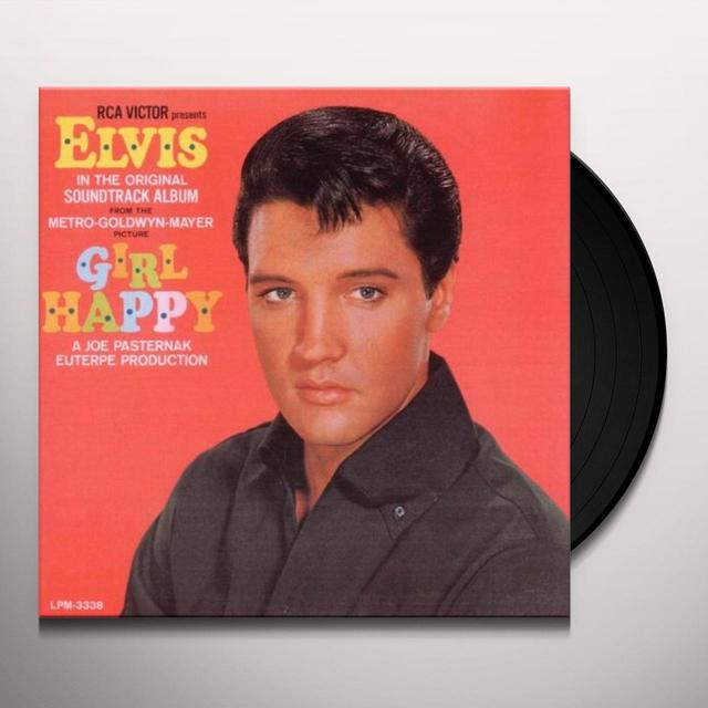 Elvis Presley GIRL HAPPY Vinyl Record - Canada Import