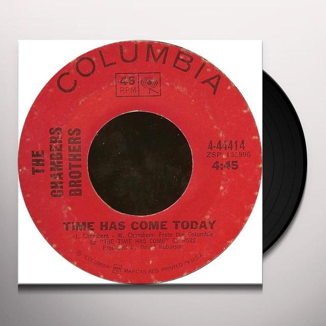 Chamber Brothers TIME HAS COME TODAY Vinyl Record - 180 Gram Pressing