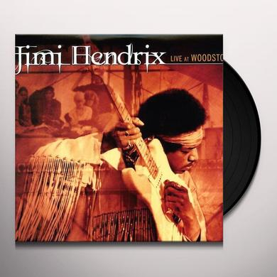 Jimi Hendrix LIVE AT WOODSTOCK Vinyl Record