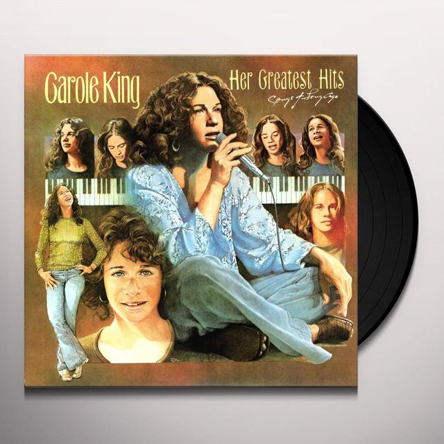 Carole King GREATEST HITS Vinyl Record - Canada Import