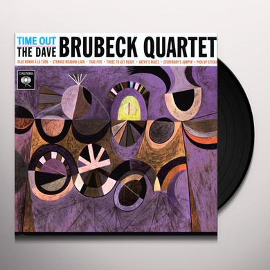 Dave Brubeck TIME OUT Vinyl Record - 180 Gram Pressing