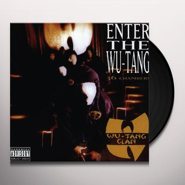 Wu-Tang Clan ENTER THE WU TANG Vinyl Record