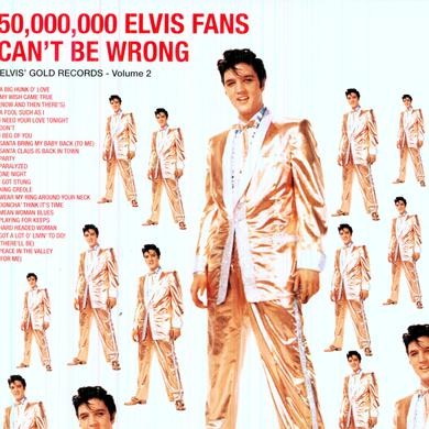 50 MILLION ELVIS FANS CAN'T BE WRONG Vinyl Record