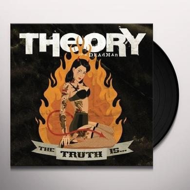 Theory Of A Dead Man TRUTH IS Vinyl Record