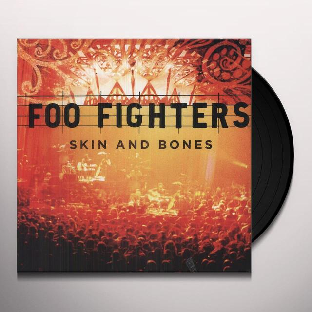 Foo Fighters SKIN & BONES Vinyl Record - MP3 Download Included