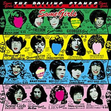 The Rolling Stones SOME GIRLS Vinyl Record