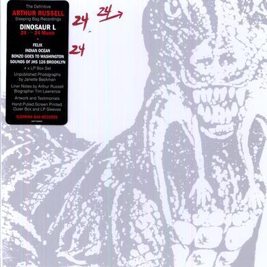 Arthur Russell 24 24 MUSICDEFINITIVE SLEEPING BAG RECORDINGS Vinyl Record
