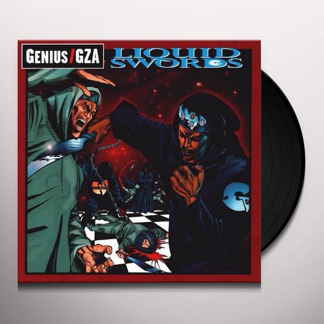 Gza LIQUID SWORDS Vinyl Record