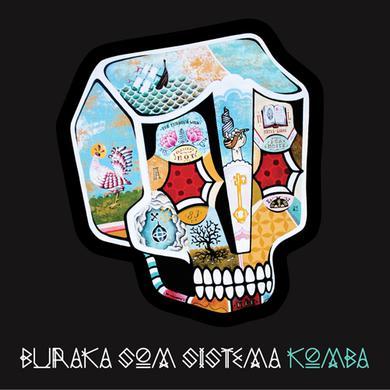 Buraka Som Sistema KOMBA Vinyl Record