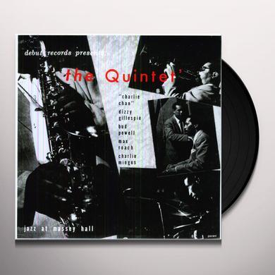 Quintet JAZZ AT MASSEY HALL Vinyl Record