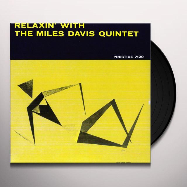 RELAXIN WITH THE MILES DAVIS QUINTET Vinyl Record