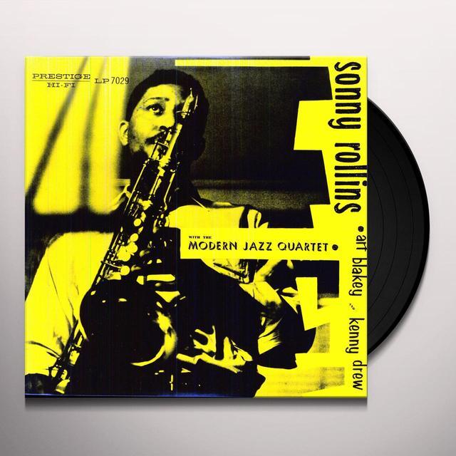 Sonny / Modern Jazz Quartet Rollins SONNY ROLLINS WITH THE MODERN JAZZ QUARTET Vinyl Record