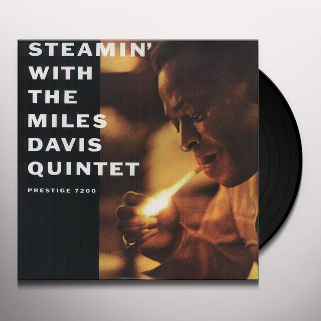 STEAMIN: WITH THE MILES DAVIS QUINTET Vinyl Record