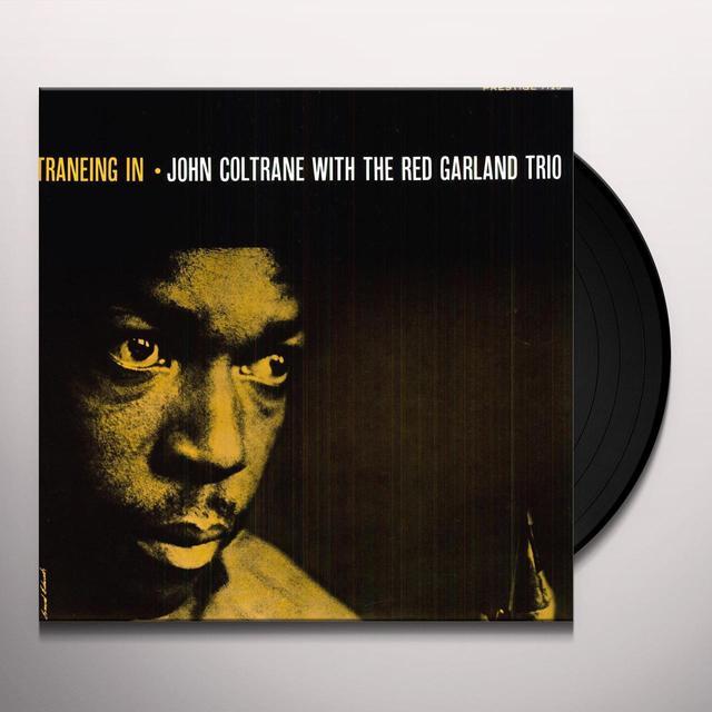 John / Red Garland Trio Coltrane TRANEING IN Vinyl Record