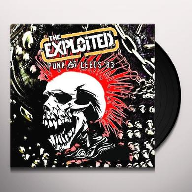 The Exploited PUNK AT LEEDS 83 Vinyl Record