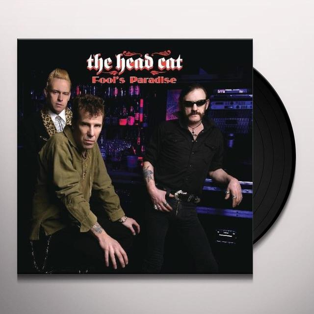 Head Cat FOOL'S PARADISE Vinyl Record - Limited Edition