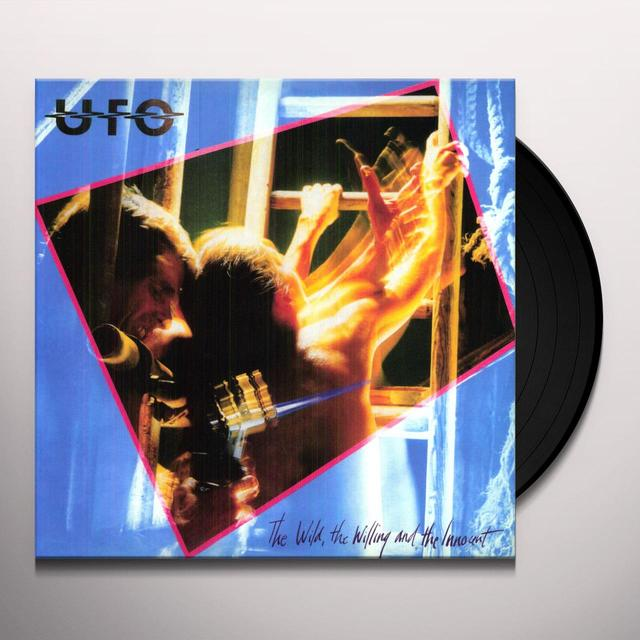 Ufo WILD THE WILLING & THE INNOCENT Vinyl Record