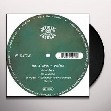He & She VIDET (EP) Vinyl Record