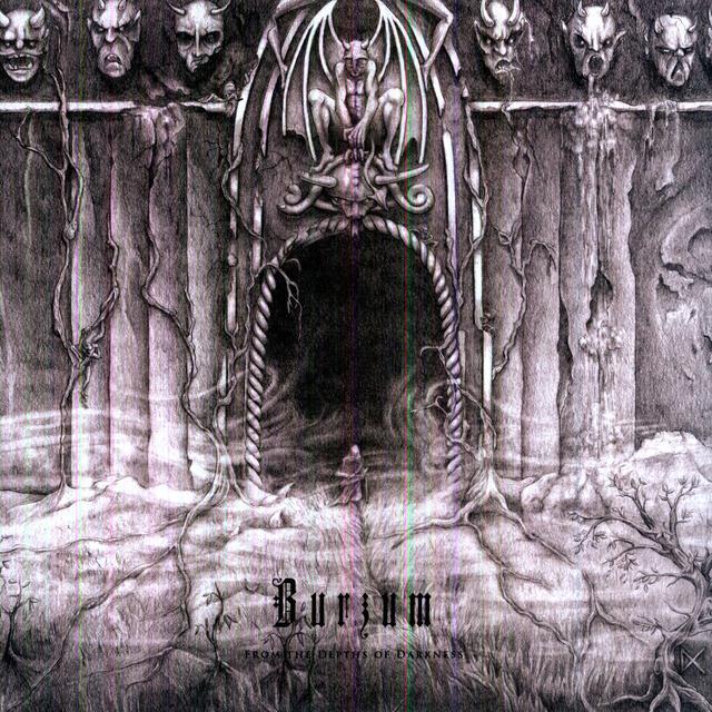 Burzum FROM THE DEPTHS OF DARKNESS Vinyl Record - 180 Gram Pressing