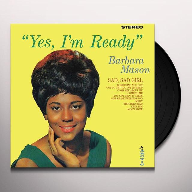 Barbara Mason YES I'M READY & OH HOW IT HURTS Vinyl Record - 180 Gram Pressing