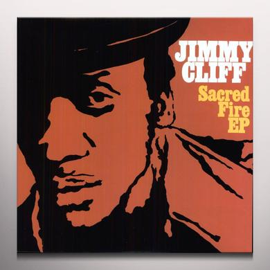 Jimmy Cliff SACRED FIRE  (EP) Vinyl Record - Colored Vinyl, Digital Download Included