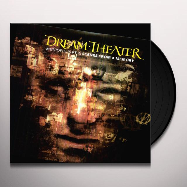 Dream Theater METROPOLIS 2: SCENES FROM A MEMORY Vinyl Record