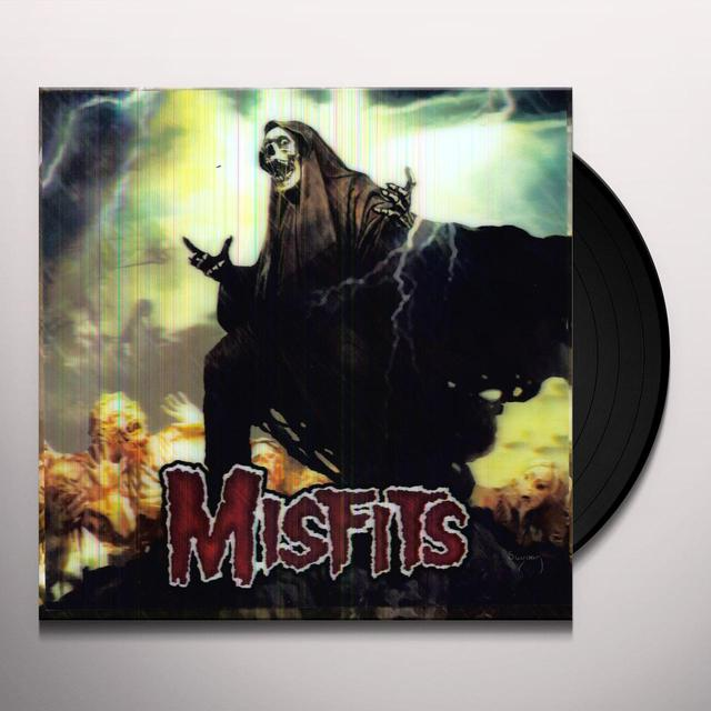 The Misfits DEVIL'S RAIN Vinyl Record
